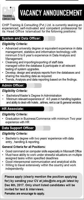 Gilgit-Baltistan Career, Educational \ Social Forum Grace - data officer sample resume