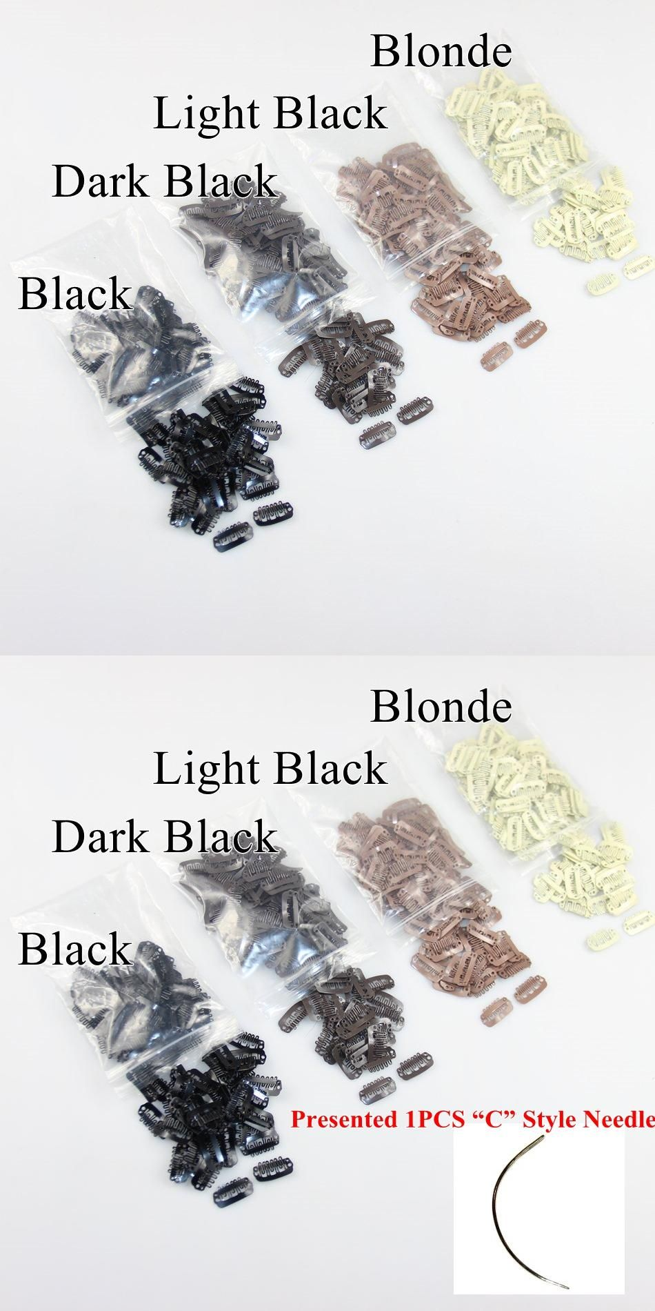 23cm Wig Snap Clips For Hair Extensions 5 Colors Optional For Hair
