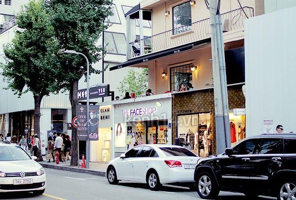 Quận nhà giàu Gangnam