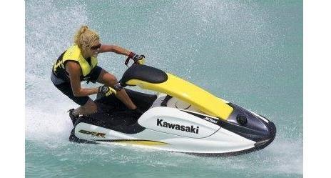 kawasaki stand up jet ski 440