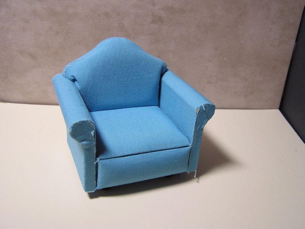 Miniature Dollhouse Furniture-Chair 1 in scale