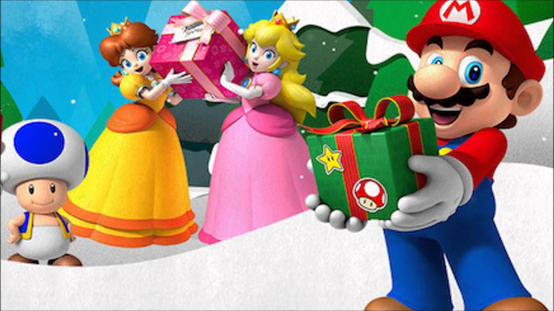 Super Mario Bros Overworld (Winter Christmas) - NES Remix 2 ...