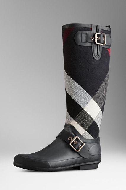 Hellozebra Women Rain Boots Waterproof Fashion Ankle
