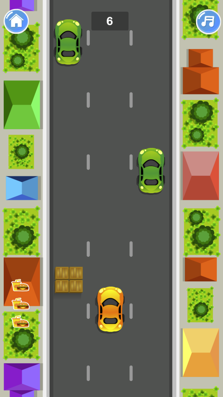 Food Delivery Rush Driving Game for Kids in 2020 Games