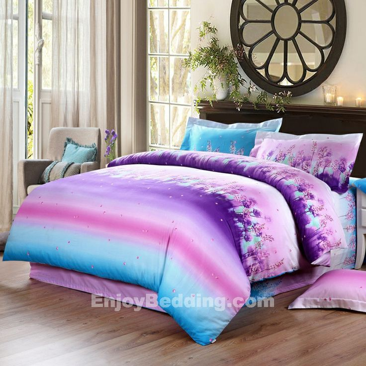 Bedroom Teenage Small Girls Room Purple Large Size: Cute Teenage Full Measurement Bedding For Women