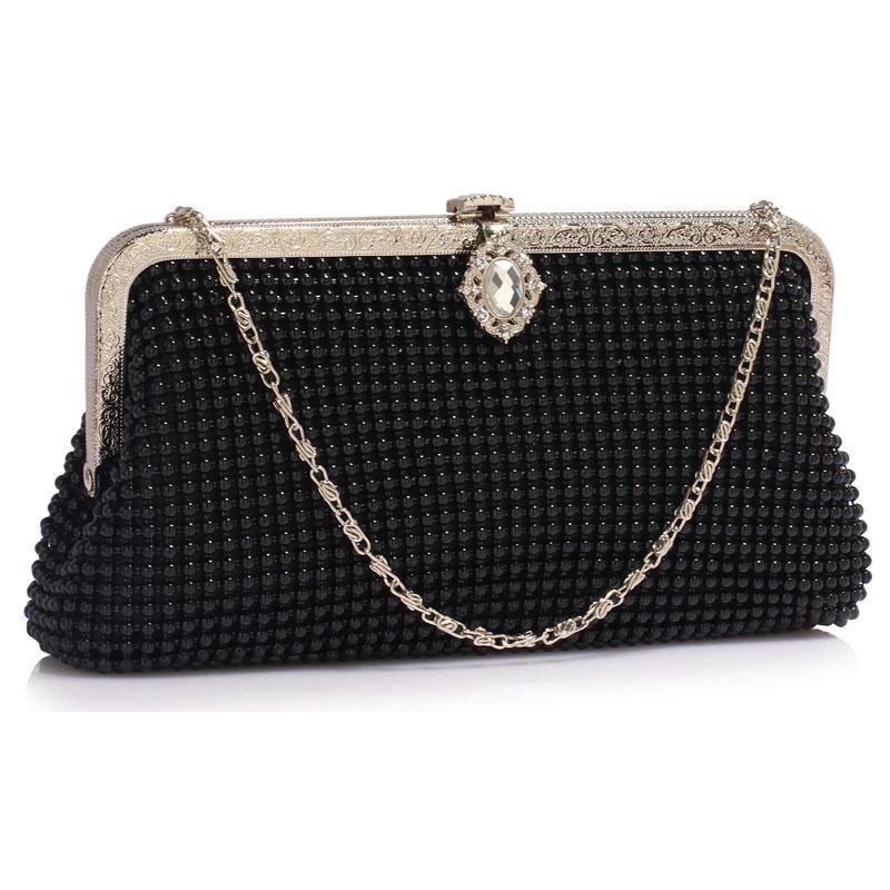 Czarujaca Torebka Wizytowa Z Krysztalem Formal Bag Top Handle Bag Clutch Bag
