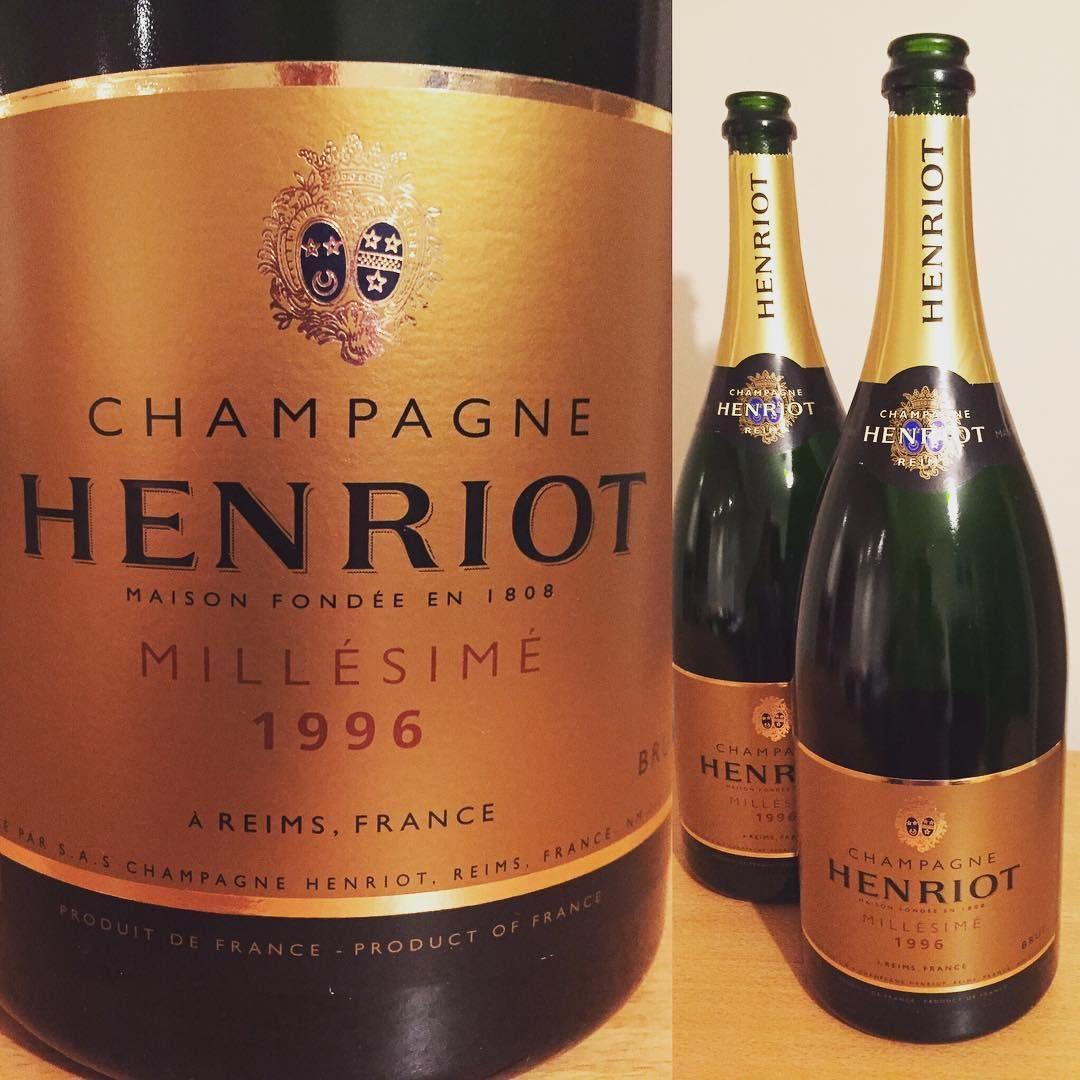 Champagne henriot millesime 1996