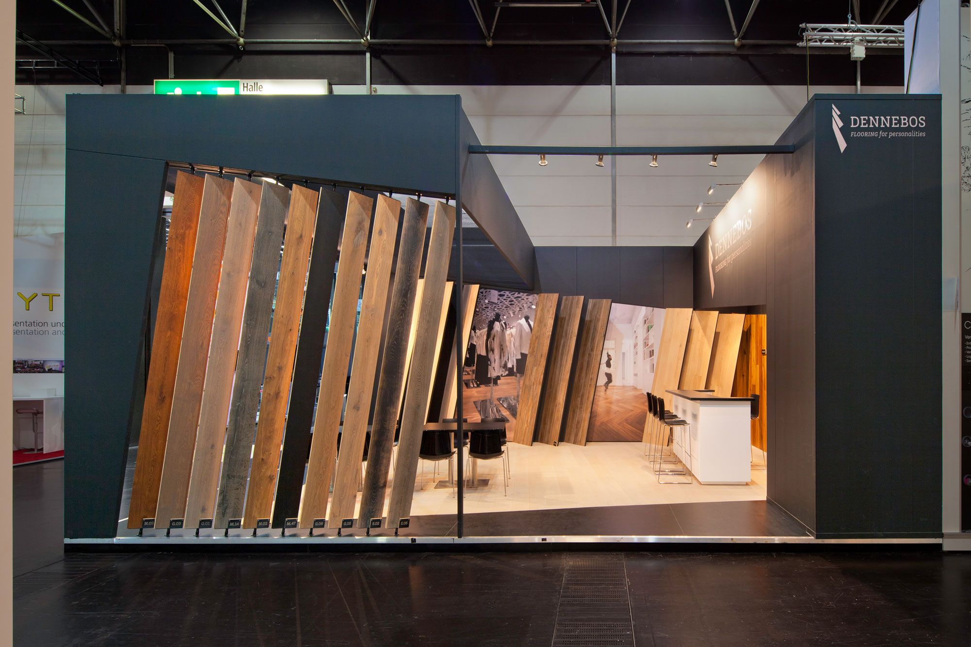 Stand Extérieur Stand From The Inside Standbuilding For Dennebos At Euroshop Plv