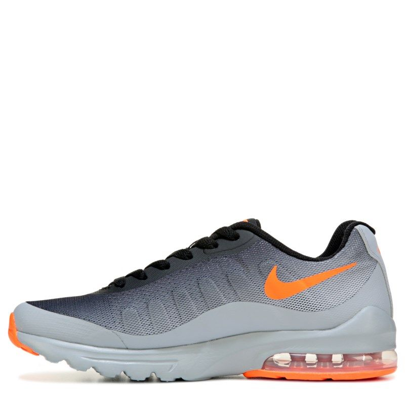 new arrival 65938 53df4 Nike Kids  Air Max Invigor Running Shoe Preschool Shoes (Grey Orange) -  11.0 M