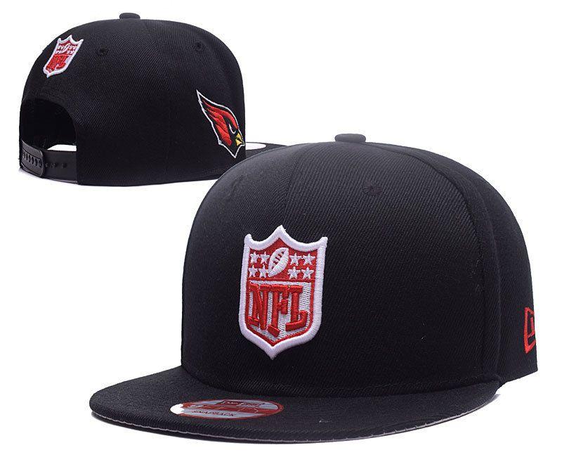 Men s Arizona Cardinals New Era NFL Team Shield Logo Embroidery 9FIFTY  Snapback Cap - Black f43a8d26deb7