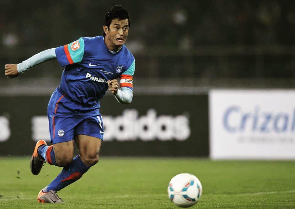भारतीय फुटबॉलर बाइचुंग भूटिया