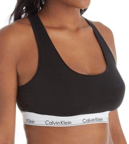 d659d700406 Calvin Klein QF5116 Modern Cotton Plus Size Unlined Bralette  Modern Calvin  Klein