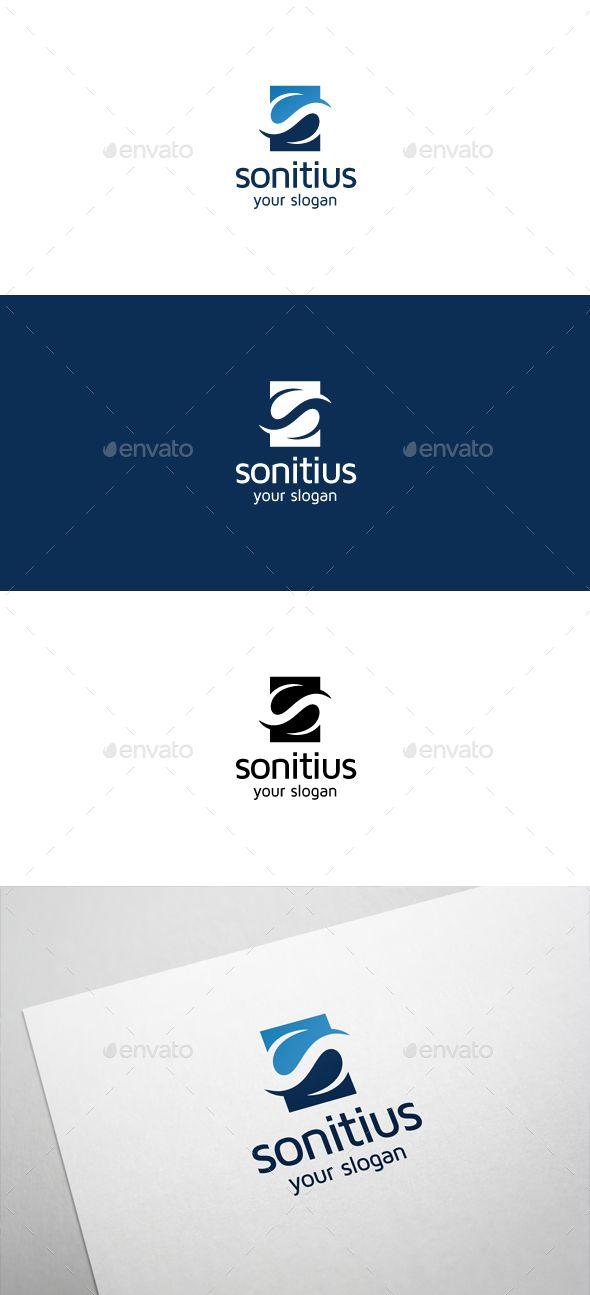 Sonitius S Letter Logo