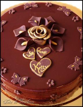 Cp Auguri Cioccolatosi A Ketty Sweet Incredible Cake