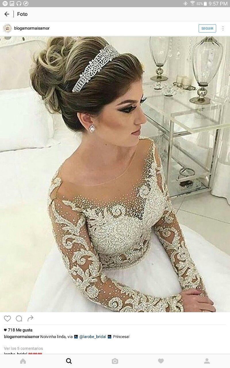 Bello Peinados De Novia Con Velo Peinados Matrimonio Estilos De Peinado Para Boda