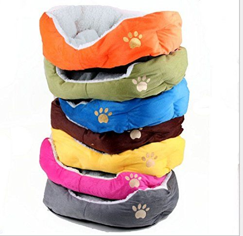 256 X 217 X87 Soft Comfortable Rectangular Dog Pet Bed Cat Cushion Warm Blue * Read more  at the image link.
