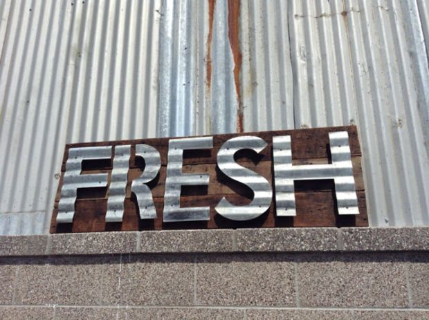 Sign Barn Wood Rustic Vintage Reclaimed Minimalist Words