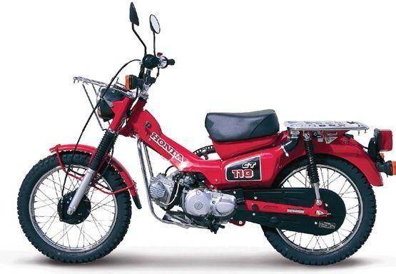 Honda CT110 CT90 Postie Bike Workshop Service Manual   eBay   Bike ...
