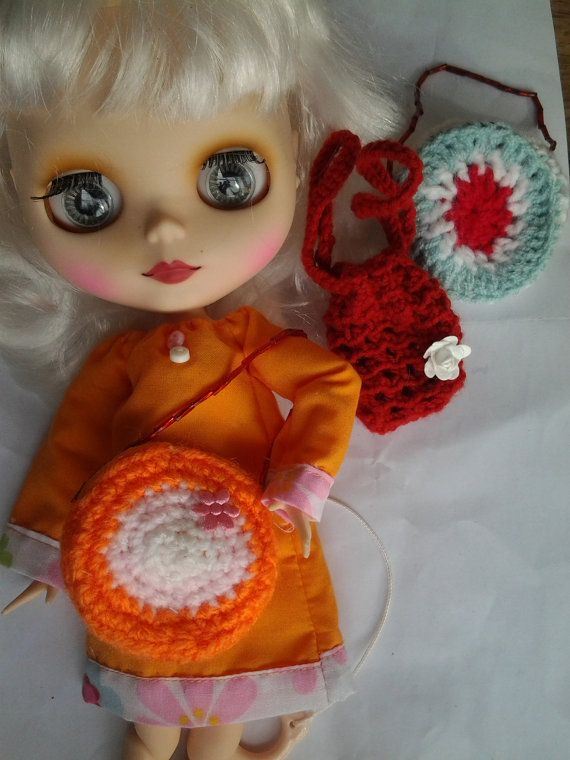 Handmade bag  clothes for your Blythe doll. by SummerBoonCreations
