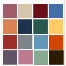1930s Fashion Colors, Clothing & Fabric