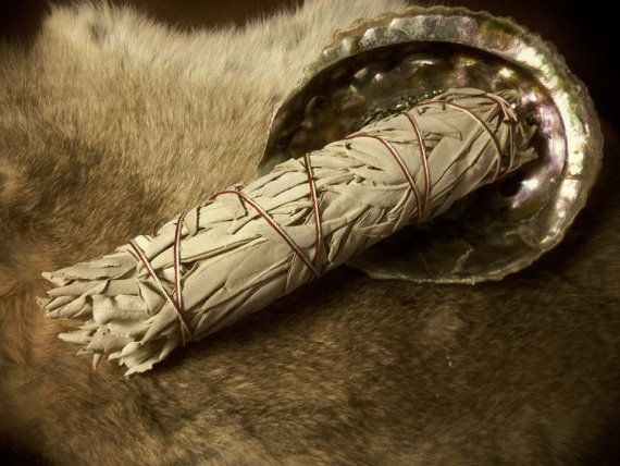 One Extra Large White Sage Wand Smudging Sage 9 by MoonMotions