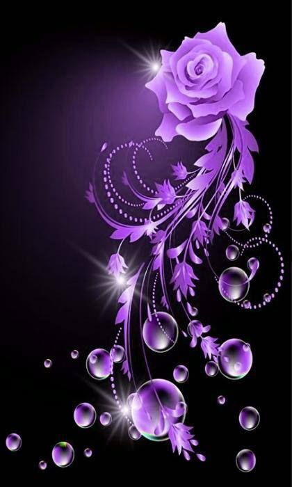 Love It Purple Flowers Purple Roses Purple Love