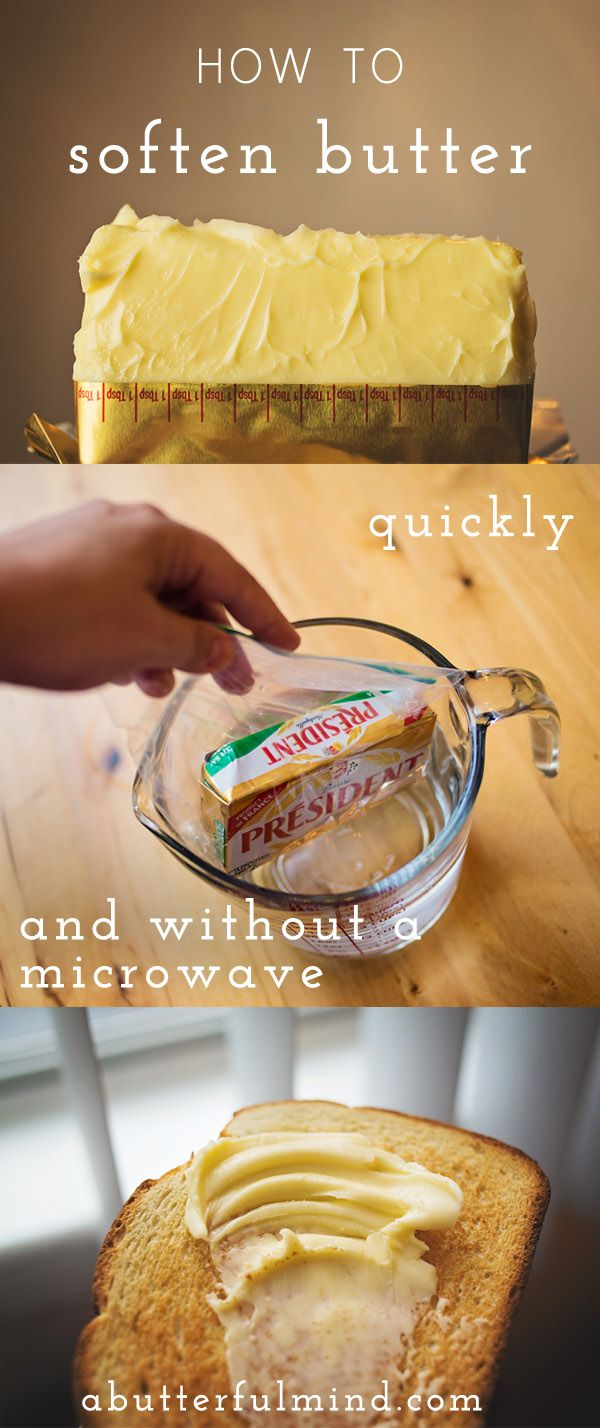 Olive Garden Kitchen Secrets How To Soften Butter Butter