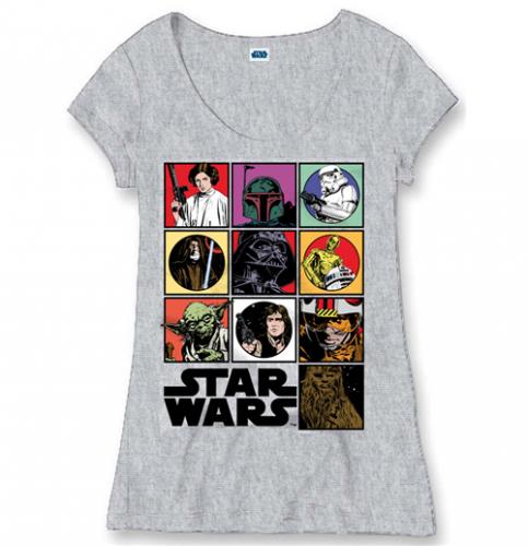 Prezzi e Sconti: #T-shirt star wars 84079  ad Euro 19.90 in #Cinema e tv film t shirt #Moda