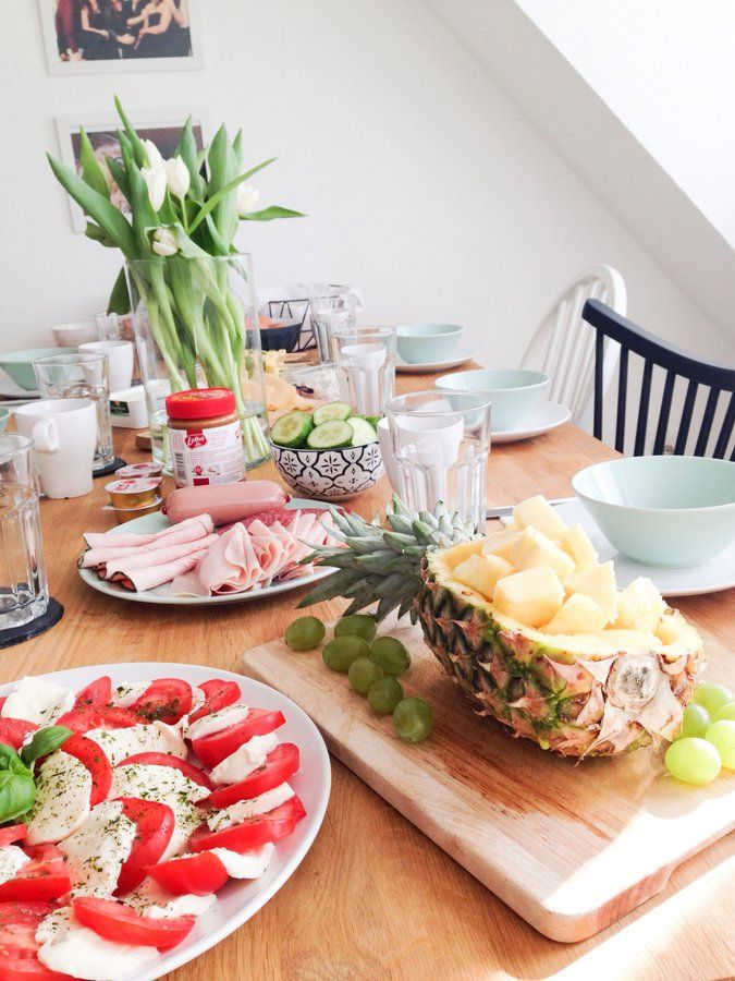 Zeit Fur Brunch In 2019 Brunch Ideen Fruhstuck Brunch Ideen