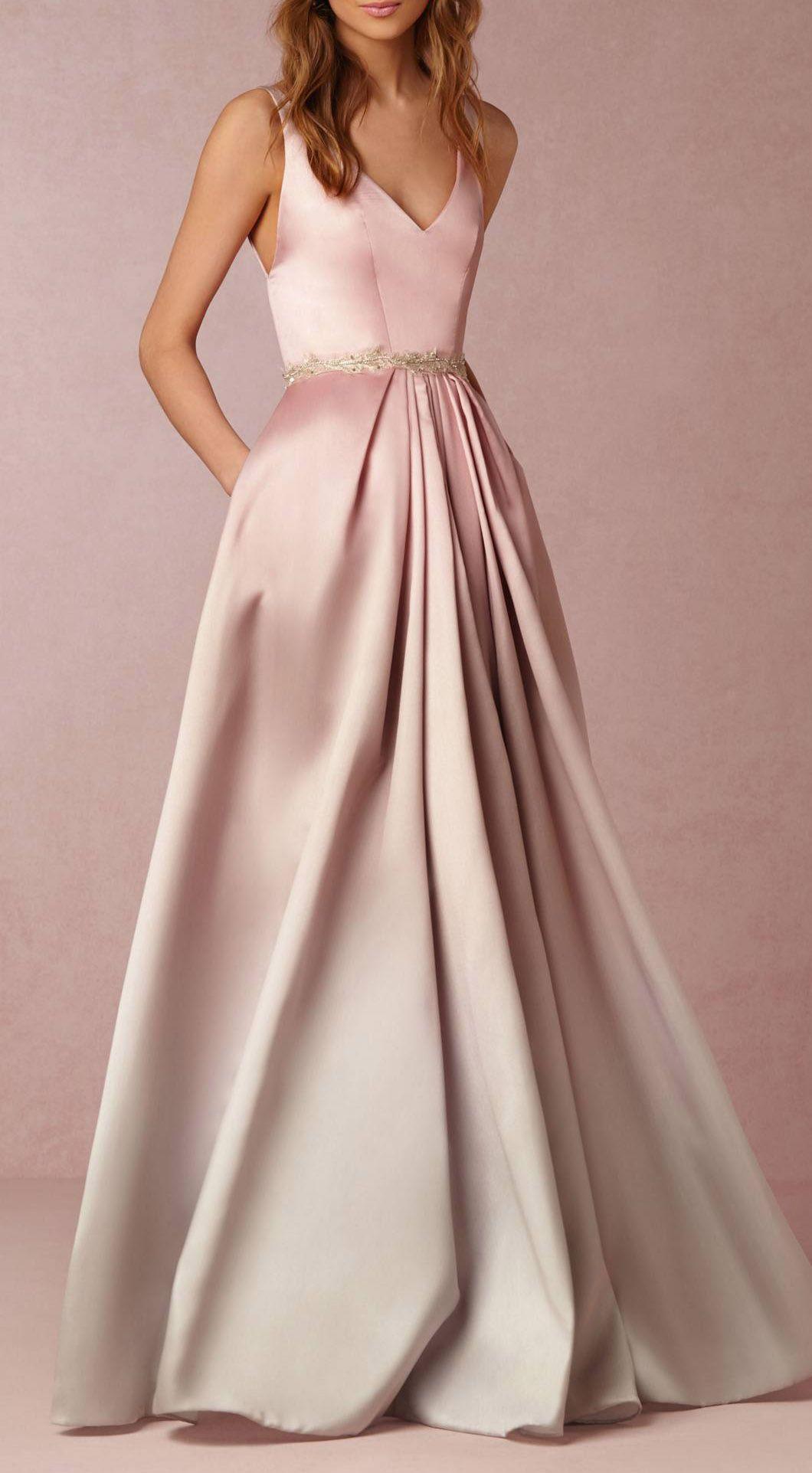 Lorraine Pink Long Dress | Vestidos | Pinterest | Graduación ...