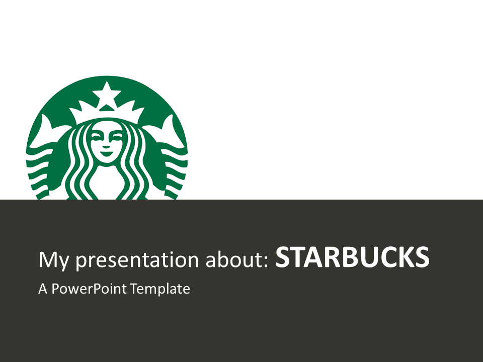starbucks powerpoint template