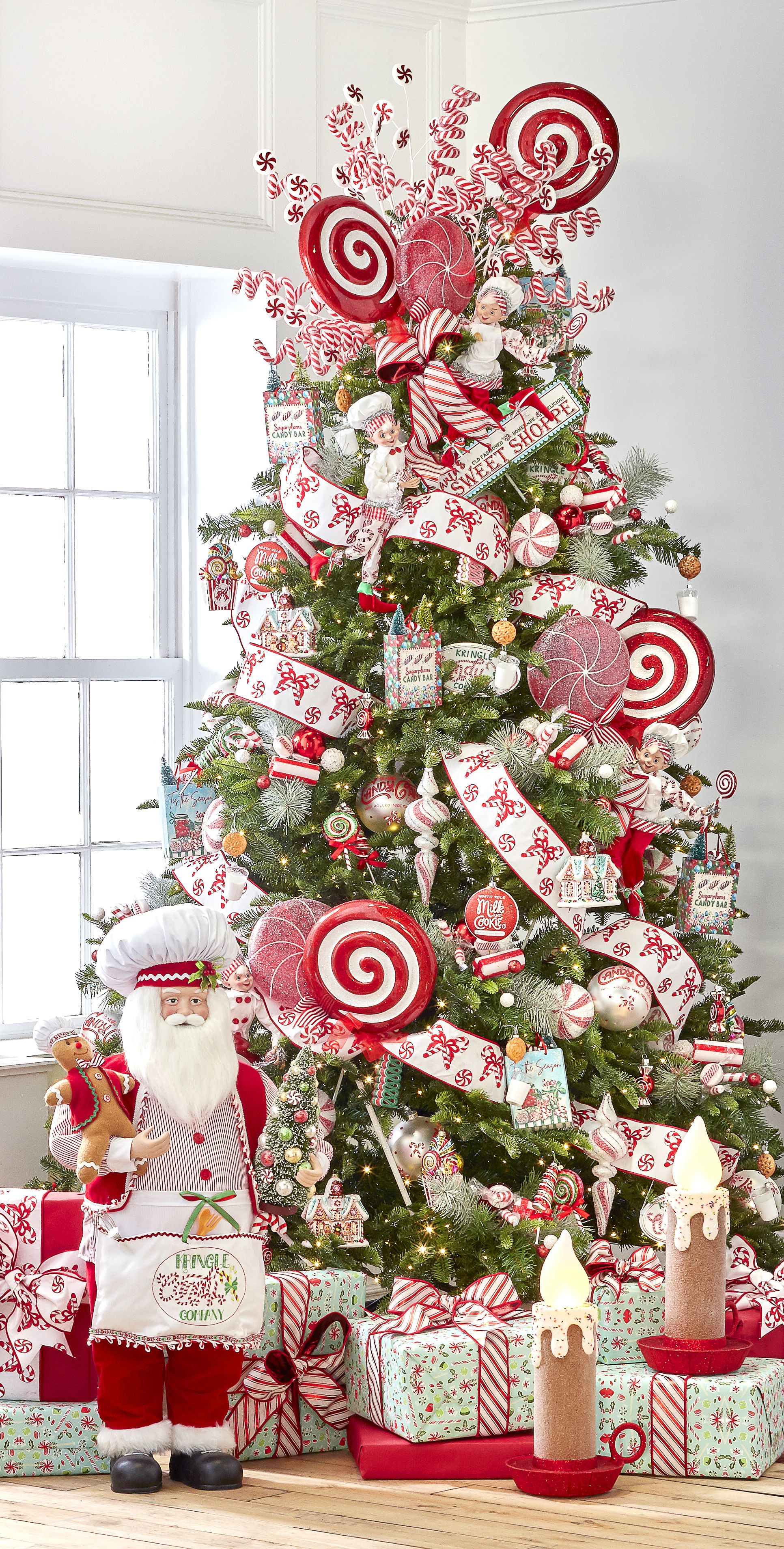 Kringle Candy Co Christmas Tree Decorations Christmas Tree Inspiration Candy Christmas Tree