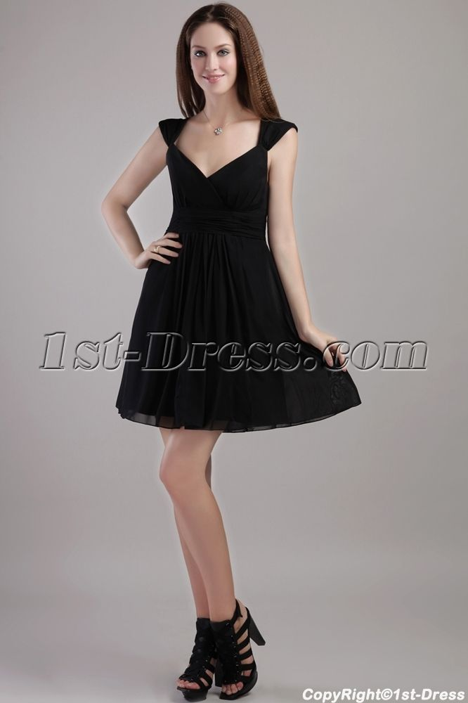 Little Black Party Dresses for Juniors
