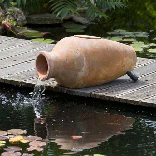 Fontaine de jardin Kit pour Bassin Amphora Kit pour Bassin Amphora ...