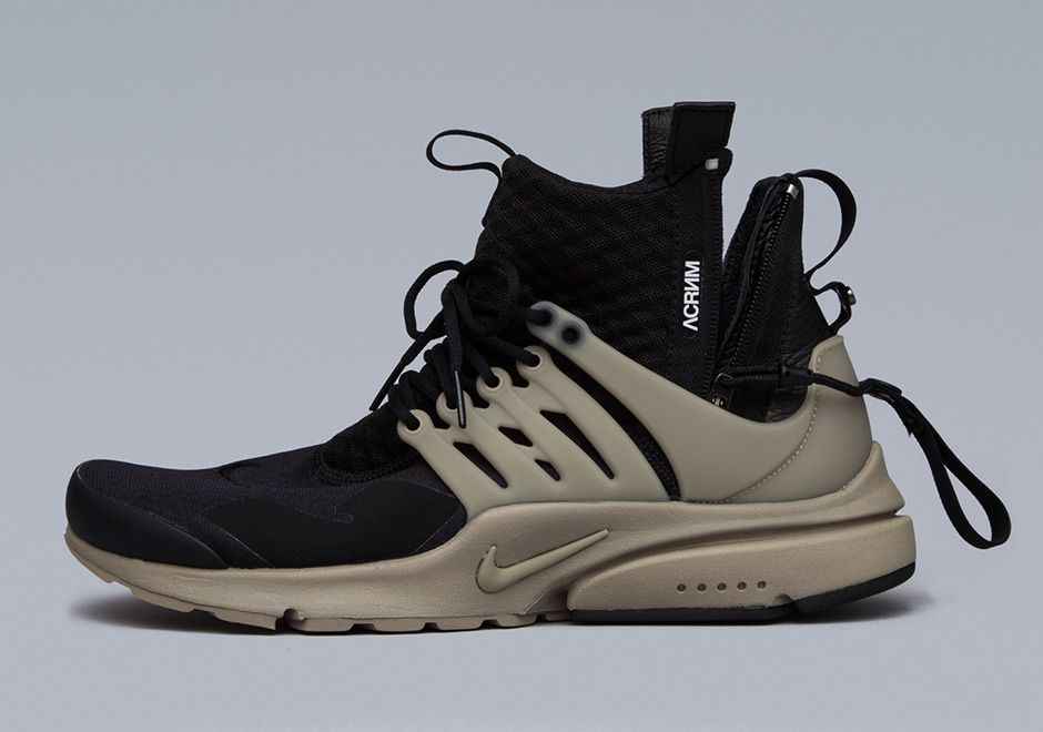 outlet store 9a5fe e8c9c The ACRONYM Nike Presto Mid Collection dropped in Berlin this past Thursday  but…
