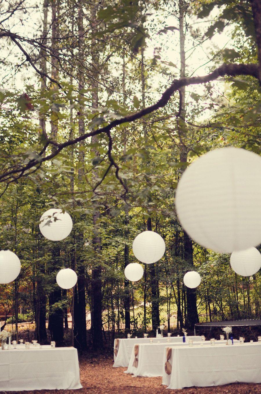 backyard stone mountain wedding from alea moore photography