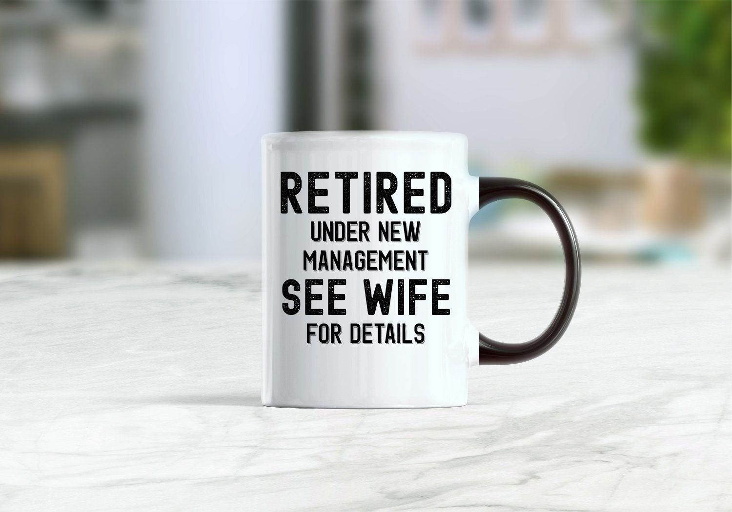 Retirement mug, retirement gift ideas, Retirement gift for husband, funny retirement gifts, retirement coffee mug, gift for him, custom name - Funny retirement gifts, Gifts for husband, Retirement gifts, Best boss gifts, Personalized retirement gifts, Wine gifts - Retirement mug, retirement gift ideas, Retirement gift for husband, funny retirement gifts, retirement coffee mug, gift for him, custom name Beautiful custom made mug, perfect gift for Christmas, Birthday, Weddings, Engagement, Anniversary and Thanksgiving    11 oz white ceramic mug   Printed on BOTH sides  High quality ceramic      Treat yourself or give as a gift to someone special   Easy Grip C shaped handle allow for ease and everyday use    Safe for hot and cold beverages   Dishwasher and microwave safe   If you would like to personalize your mug please leave us a note in the ''note to seller'' section