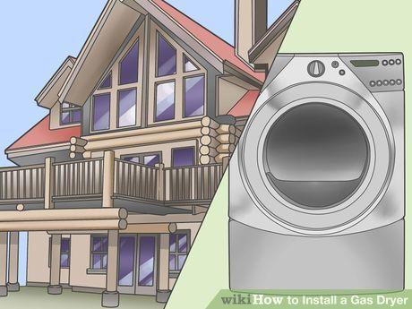 Install a Gas Dryer Step 1