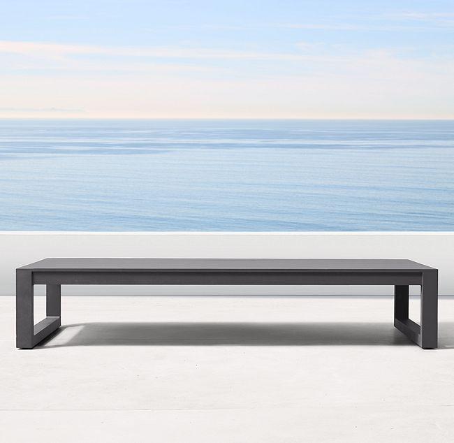 Super Aegean Aluminum Coffee Table 494 W Spruce Furnishings Inzonedesignstudio Interior Chair Design Inzonedesignstudiocom