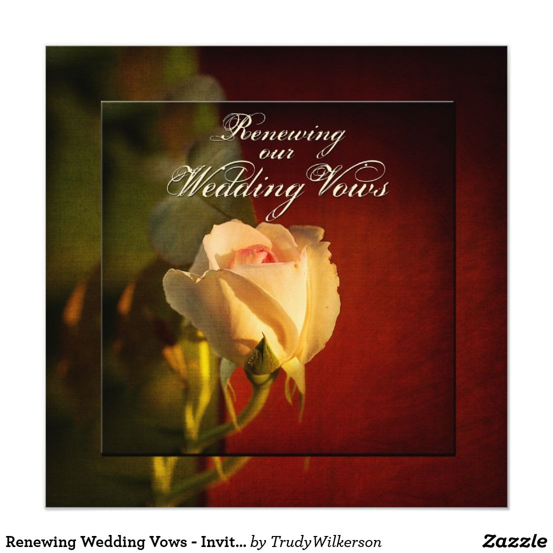 Renewing Wedding Vows - Invitations | Renewing vows | Pinterest ...