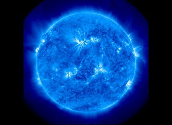 """Sooo Cool!!!   A team of scientists has created an """"MRI"""" of the Sun's interior plasma motions, shedding light on how it transfers heat from its deep interior to its surface. In order to develop their """"MRI"""" of the Sun's plasma flows, the researchers examined high-resolution images of the Sun's surface, shown above, taken by the Helioseismic and Magnetic Imager (HMI) onboard NASA's Solar Dynamics Observatory."""