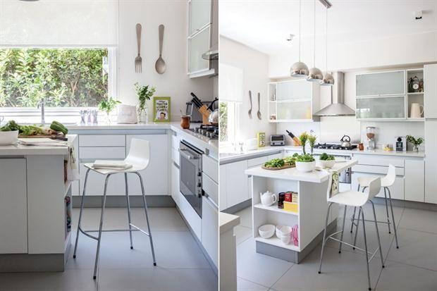 Seis opciones para una isla en tu cocina | Banquetas, Espacios y Cocinas
