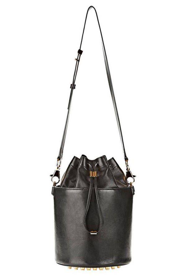 ea5d7ae41448 Black Falabella Denim Star Bucket Bag - Stella Mccartney Official ...