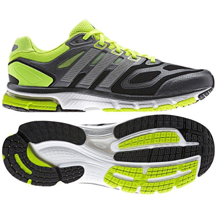 32s*4031 Adidas Supernova Sequence 6 Black Grey Green Shoes Australia