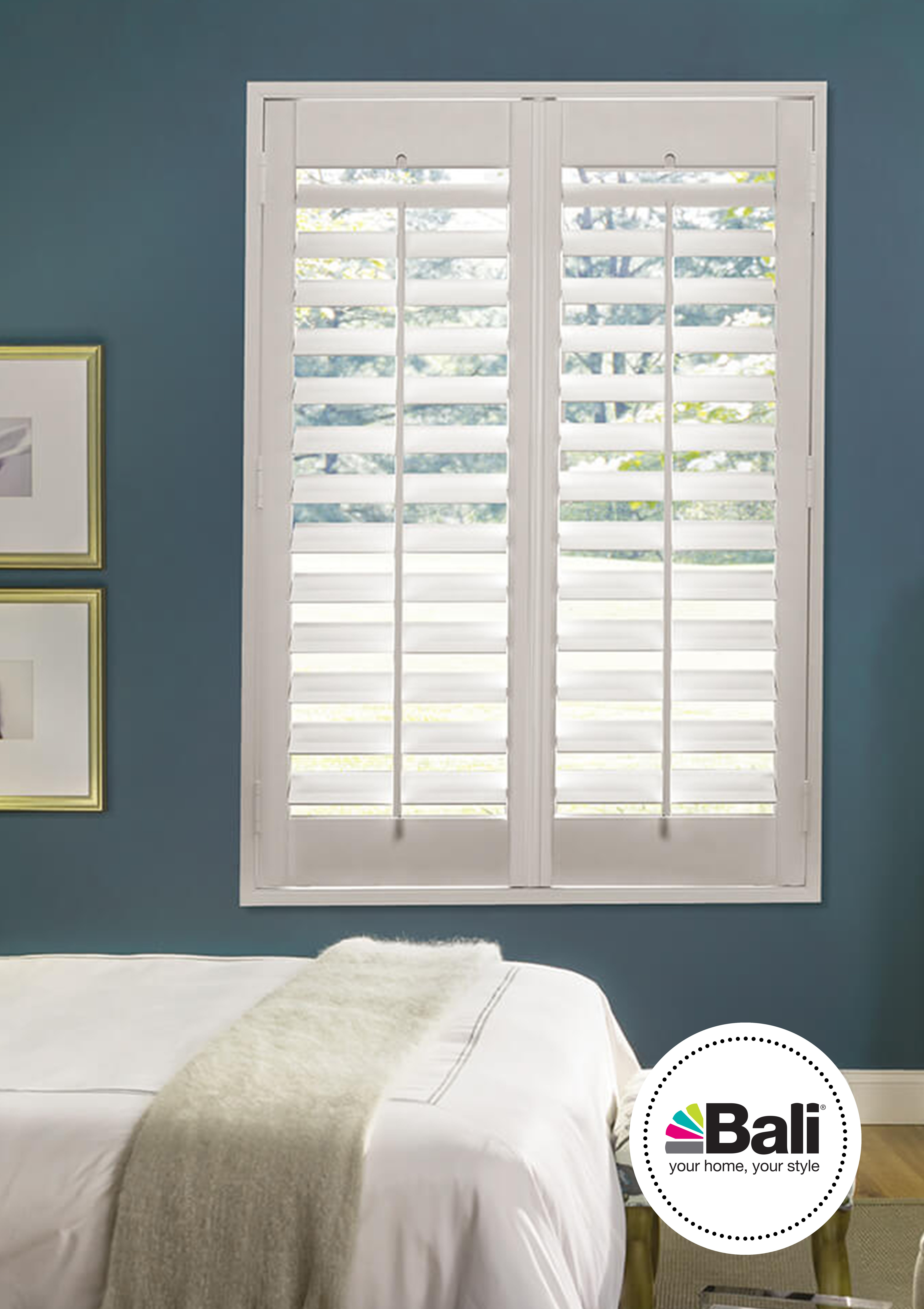 3 1 2 Louvers A Versatile Size That Suits A Variety Of Windows And Improves Your View To The Outside Diy Shutters Bali Blinds Blinds