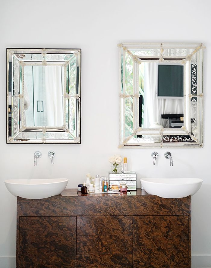 Pin By Jane Song On Stuff To Buy Mirror Backsplash Bathroom