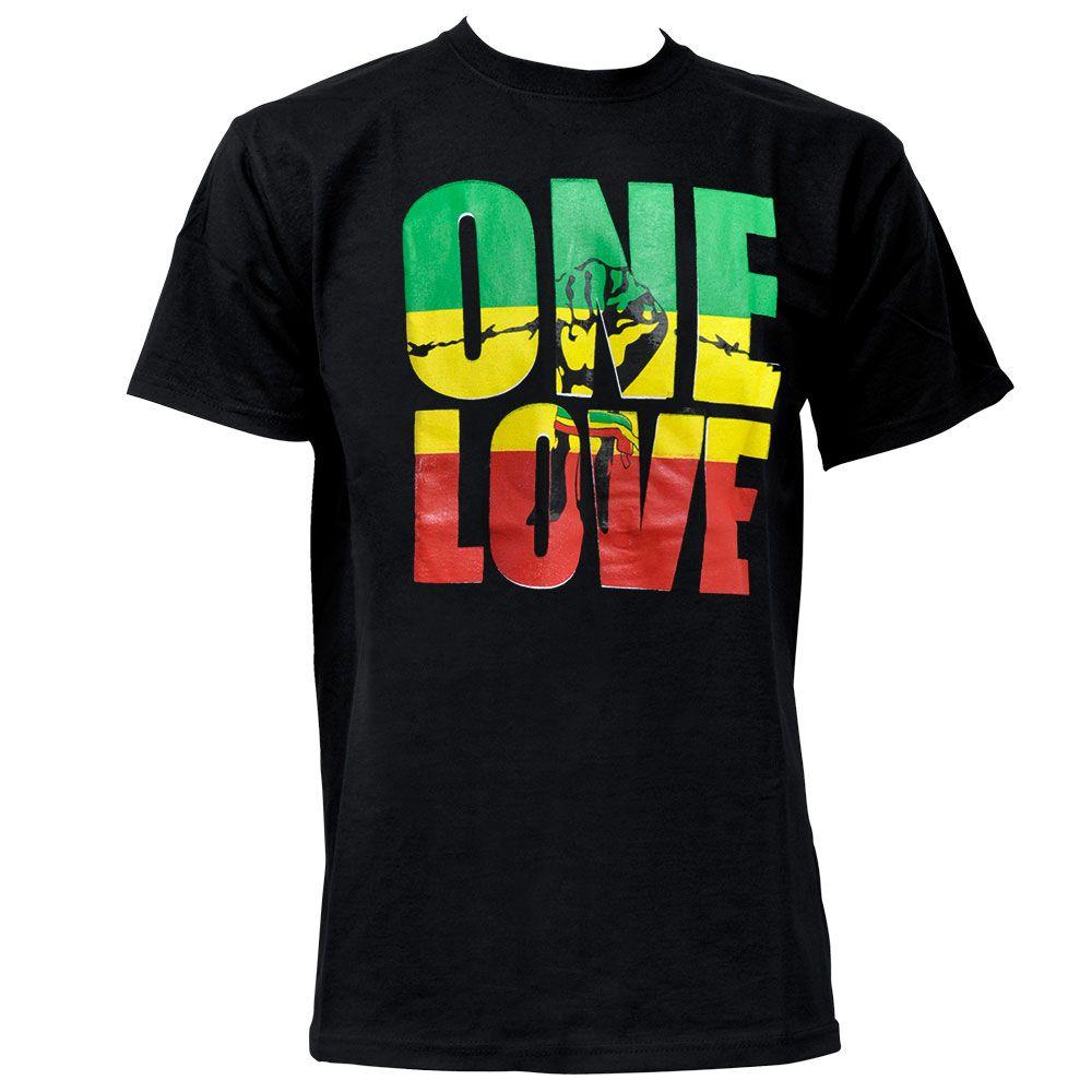 Tee shirt rasta One Love