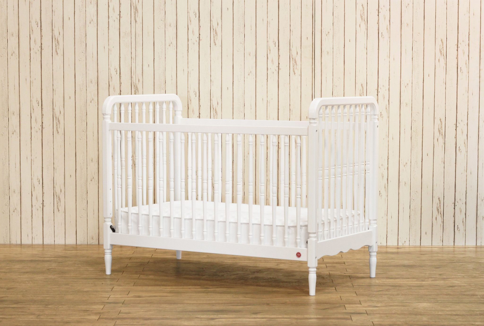 Liberty's fresh take on the antique spindle crib brings