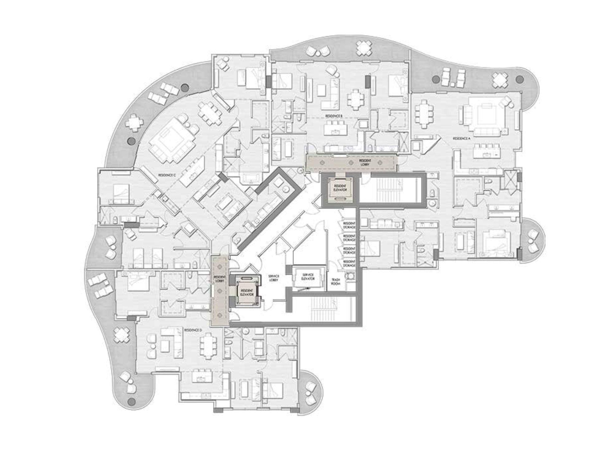 100 Las Olas Fort Lauderdale In 2020 Floor Plans Las Olas Fort Lauderdale Las Olas Boulevard