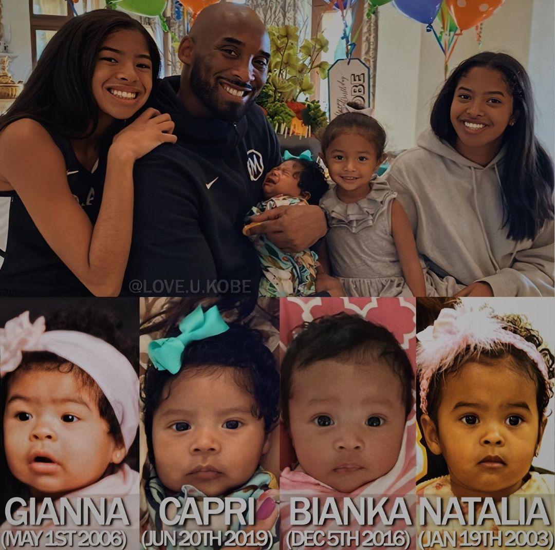 Daughters today kobes Vanessa Bryant's
